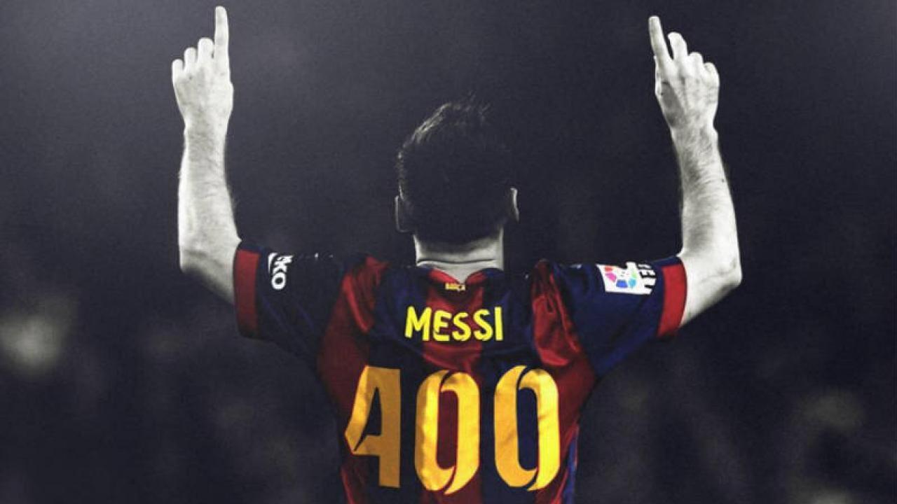 Gol 400 de Messi