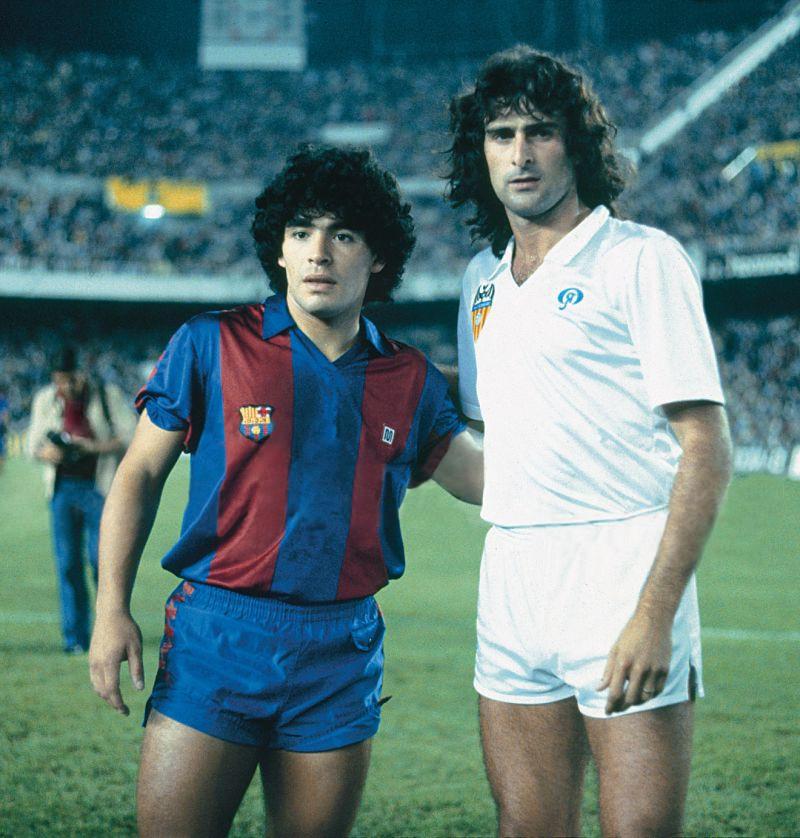 ¿Cuánto mide Diego Armando Maradona? - Altura - Real height - Página 2 Maradona_kempes_spain