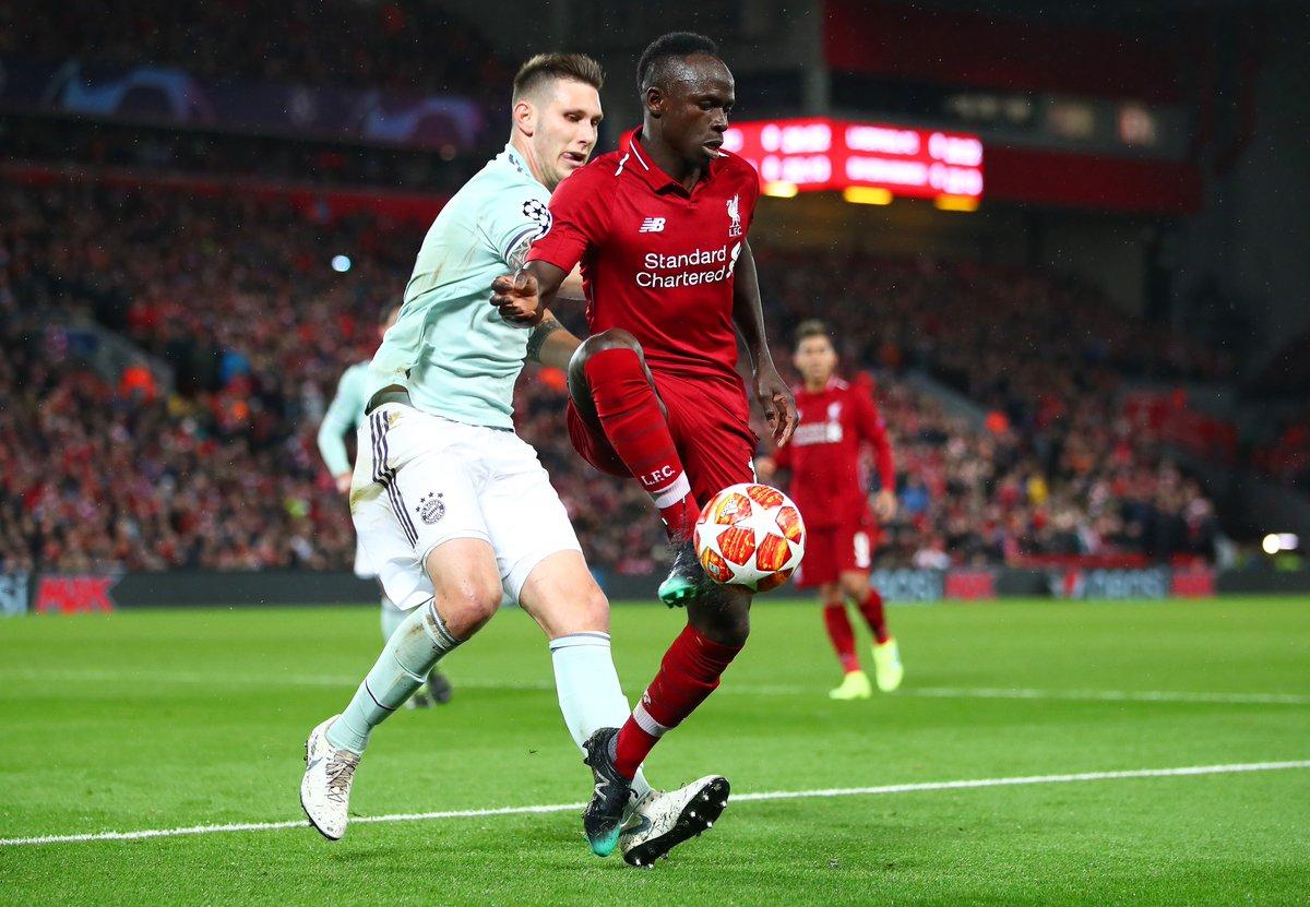 El Liverpool y el Bayern no se sacaron diferencias