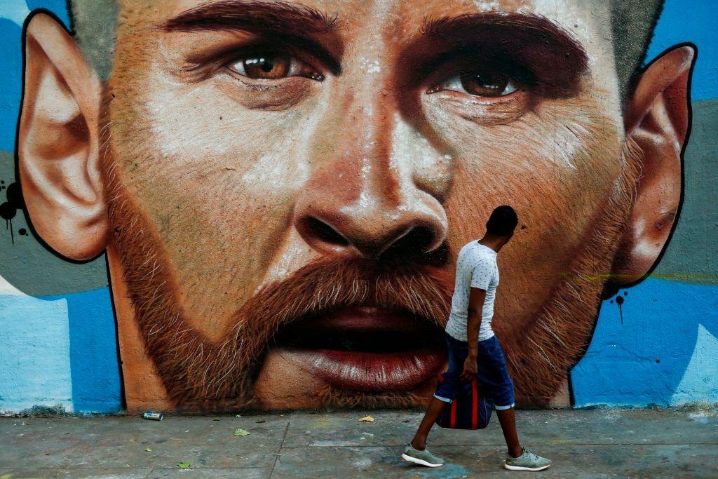 El Mural De Messi En Barcelona Hecho Por Un Grafittero Rosarino Fpd